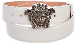 Versace Leather Medusa Belt w/ Tags