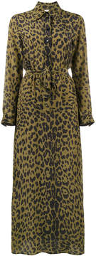 Bella Freud leopard love dress