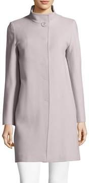 Cinzia Rocca Women's Solid Wool-Blend Coat