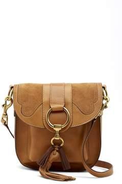 Frye Ilana Leather and Suede Saddle Bag