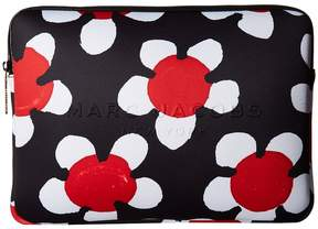 Marc Jacobs Neoprene Printed Daisy Tech 13 Computer Case