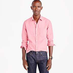 J.Crew Slub cotton shirt in solid