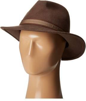 Scala Wool Felt Safari with Overlay Safari Hats