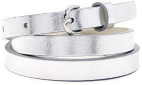 FOREVER 21 Metallic Skinny Belt