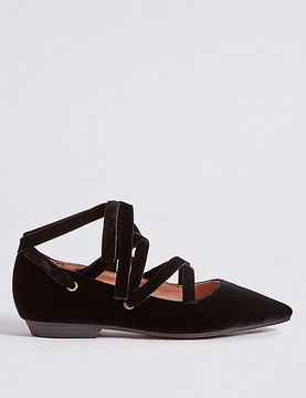 Marks and Spencer Lace-up Pump Shoes