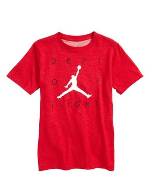 Jordan Boy's Dept Of Flight Dry T-Shirt