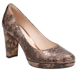 Clarks Women's Kendra Sienna Almond Toe Pump