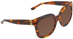 Tory Burch Brown Gradient Square Sunglasses TY7104 148113