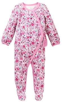 Jessica Simpson Floral Footie (Baby Girls)