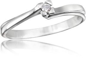 Forzieri 0.03 ctw Diamond Solitaire Ring
