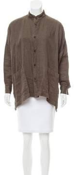eskandar Oversize Linen Jacket