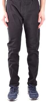 Brian Dales Men's Black Cotton Pants.