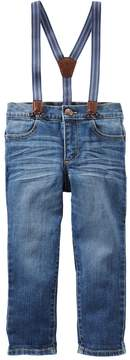 Osh Kosh Oshkosh Bgosh Toddler Boy Jeans with Suspenders