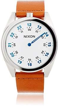 Nixon Men's Genesis Leather Watch