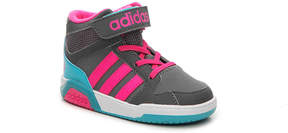 adidas Girls NEO BB9TIS Infant & Toddler Basketball Shoe