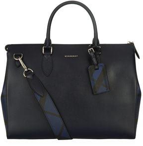 Burberry Saffiano Leather Briefcase