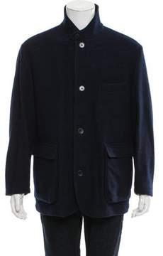 Loro Piana Virgin Wool Car Coat