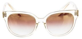 Barton Perreira Gradient Cat-Eye Sunglasses