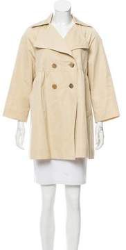 Behnaz Sarafpour Double-Breasted Swing Coat
