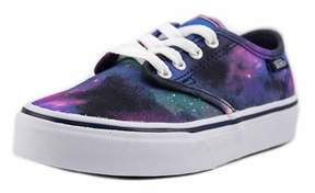Vans Camden Stripe Youth Round Toe Canvas Multi Color Skate Shoe.