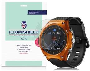 Casio 3x iLLumiShield Matte Anti-Glare Screen for Smart Outdoor Watch WSD-F10