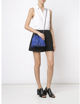 Stella McCartney 'Falabella Sun' fringed bucket shoulder bag