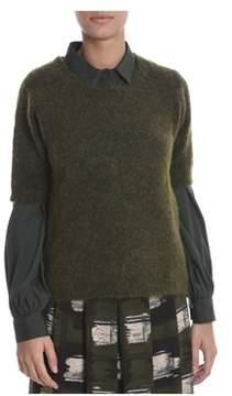 Altea Women's Green Polyamide Sweater.