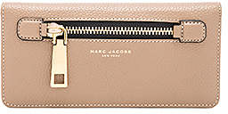 Marc Jacobs Gotham Open Face Wallet - FRENCH GREY - STYLE