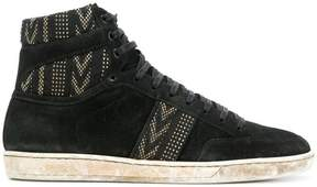 Saint Laurent mid-high Joe sneakers