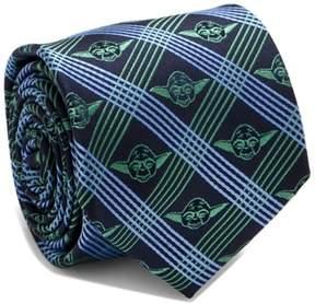 Cufflinks Inc. Men's Cufflinks, Inc. Yoda Grid Silk Tie