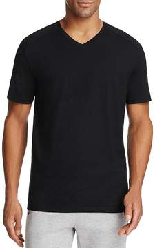 BOSS GREEN Eraldo Ribbed Shoulder V-Neck Tee