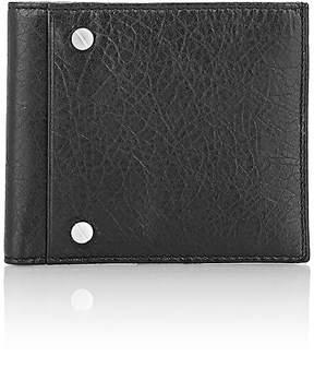 Balenciaga Men's Arena Leather Classic Square Wallet