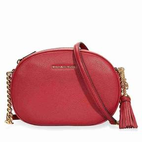 Michael Kors Ginny Medium Crossbody Bag - Burnt Red - ONE COLOR - STYLE