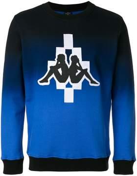 Marcelo Burlon County of Milan Kappa logo crewneck sweatshirt