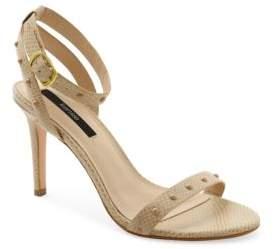 Kensie Lexy Embossed- Leather Sandals