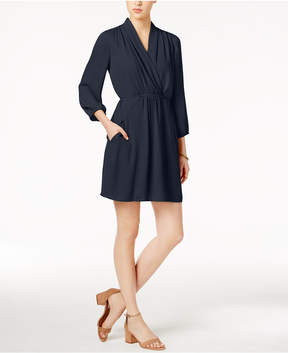 Bar III Surplice Dress, Created for Macy's