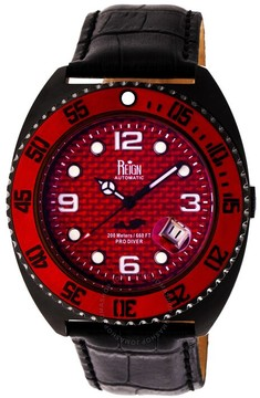 Reign Quentin Automatic Red Dial Men's Watch