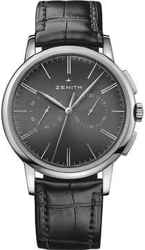 Zenith 03.2270.4069/26.C493Elite Chronograph Classic alligator-leather watch