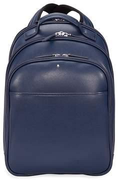 Montblanc Sartorial Small Leather Backpack - Indigo