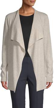 Saks Fifth Avenue BLACK Women's Waterfall Cashmere Cardigan