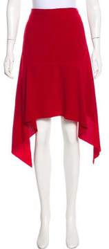 CHRISTOPHER ESBER Asymmetrical Midi Skirt