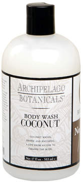 Archipelago Botanicals Coconut Body Wash by 17oz Body Wash)