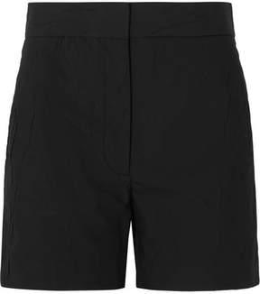 Joseph Windsor Crinkled Cotton-blend Shorts - Black