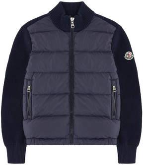 Moncler Bi-material jacket