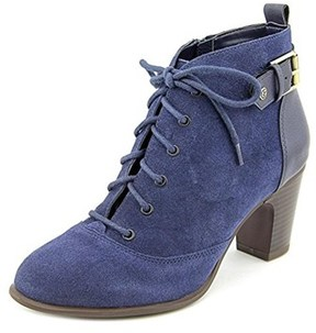 Giani Bernini Candence Women Round Toe Suede Ankle Boot.