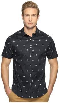 7 Diamonds Hazards of Love Short Sleeve Shirt Men's Short Sleeve Button Up