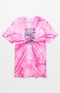 Neff Get Happy Tie-Dye T-Shirt