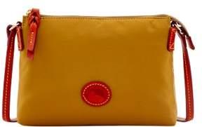 Dooney & Bourke Nylon Crossbody Pouchette Shoulder Bag - KHAKI - STYLE