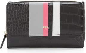 Kate Landry Croco Stripe Wallet