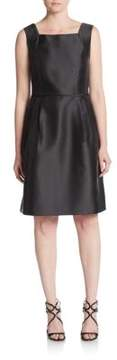 Ellen Tracy Squareneck A-Line Shift Dress